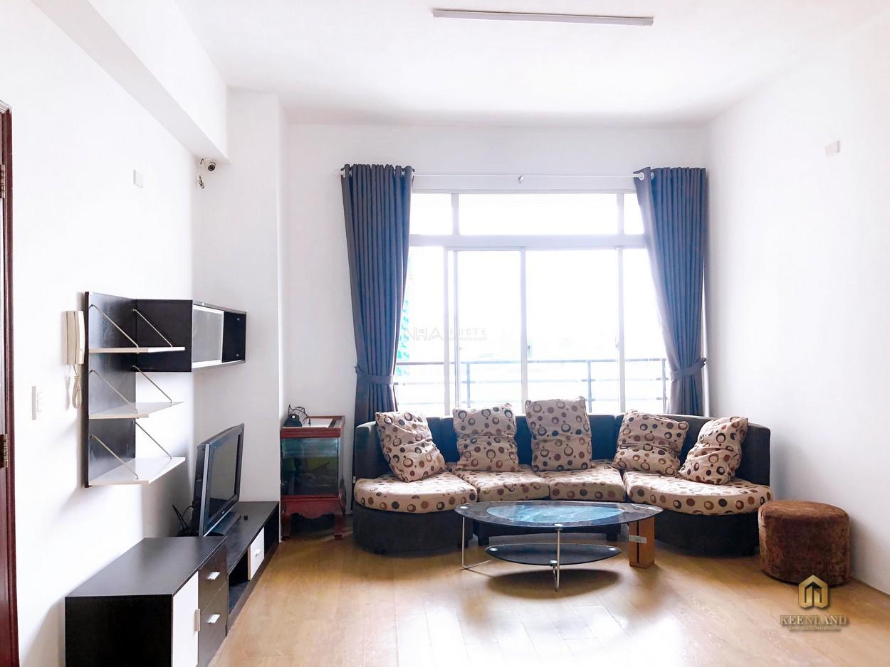 Phòng khách tại dự án Thuận Việt Quận 11