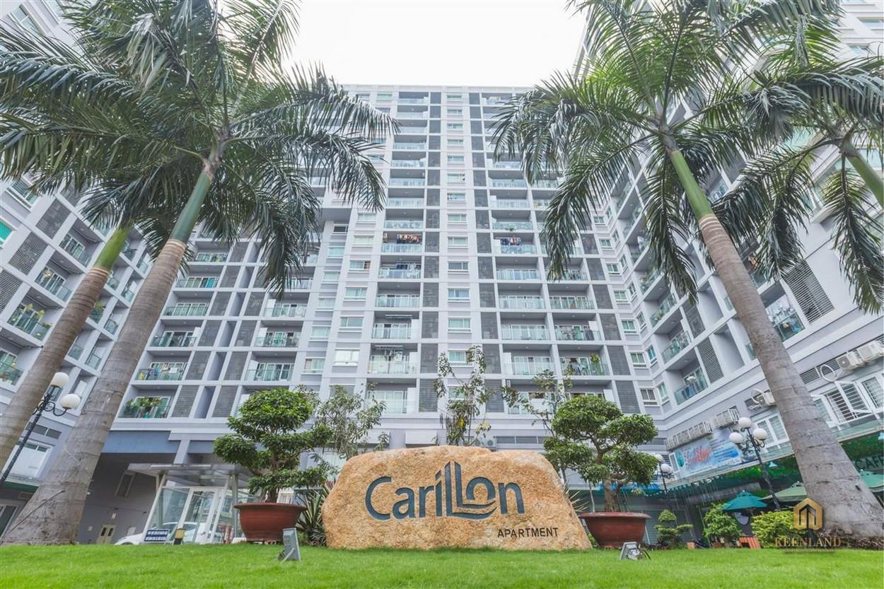 Cận cảnh mặt tiền chung cư Carrilon 1