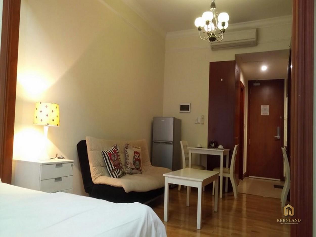 Phòng khách căn hộ H1 Hoàng Diệu
