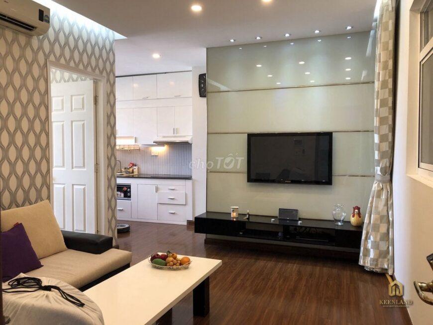 Phòng khách căn hộ H2 Hoàng Diệu