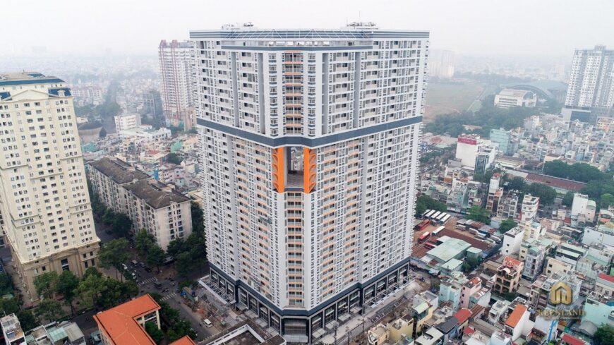 Hình ảnh thực tế chung cư Nguyễn Kim