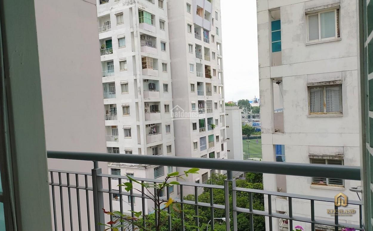 Ban công tại căn hộ Phú Thọ