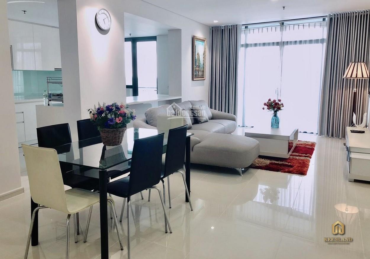 Phòng khách căn hộ chung cư Tôn Thất Thuyết