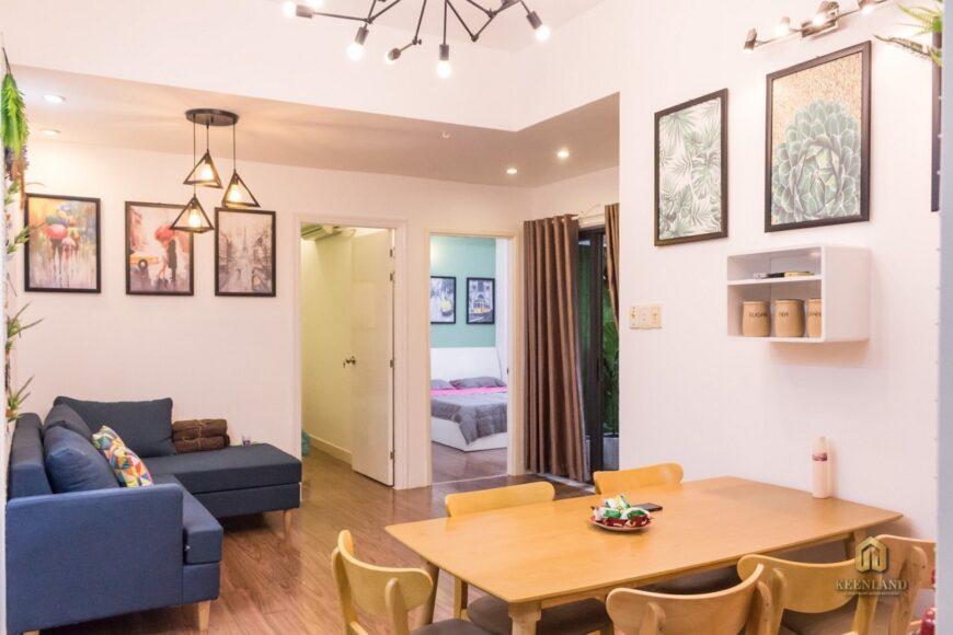 Phòng khách căn hộ Vạn Đô