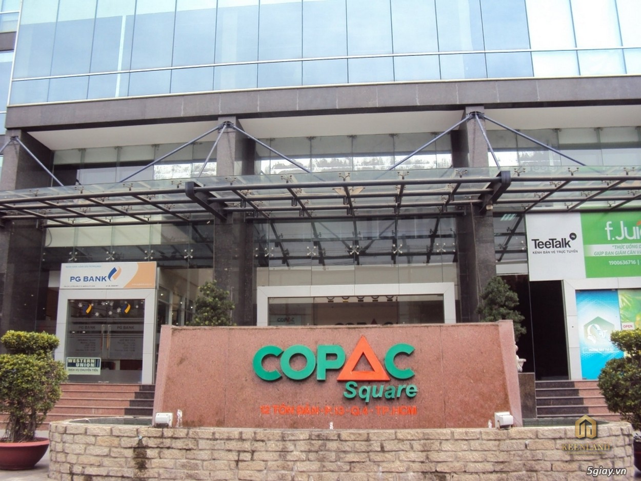 Mặt trước chung cư Copac Square