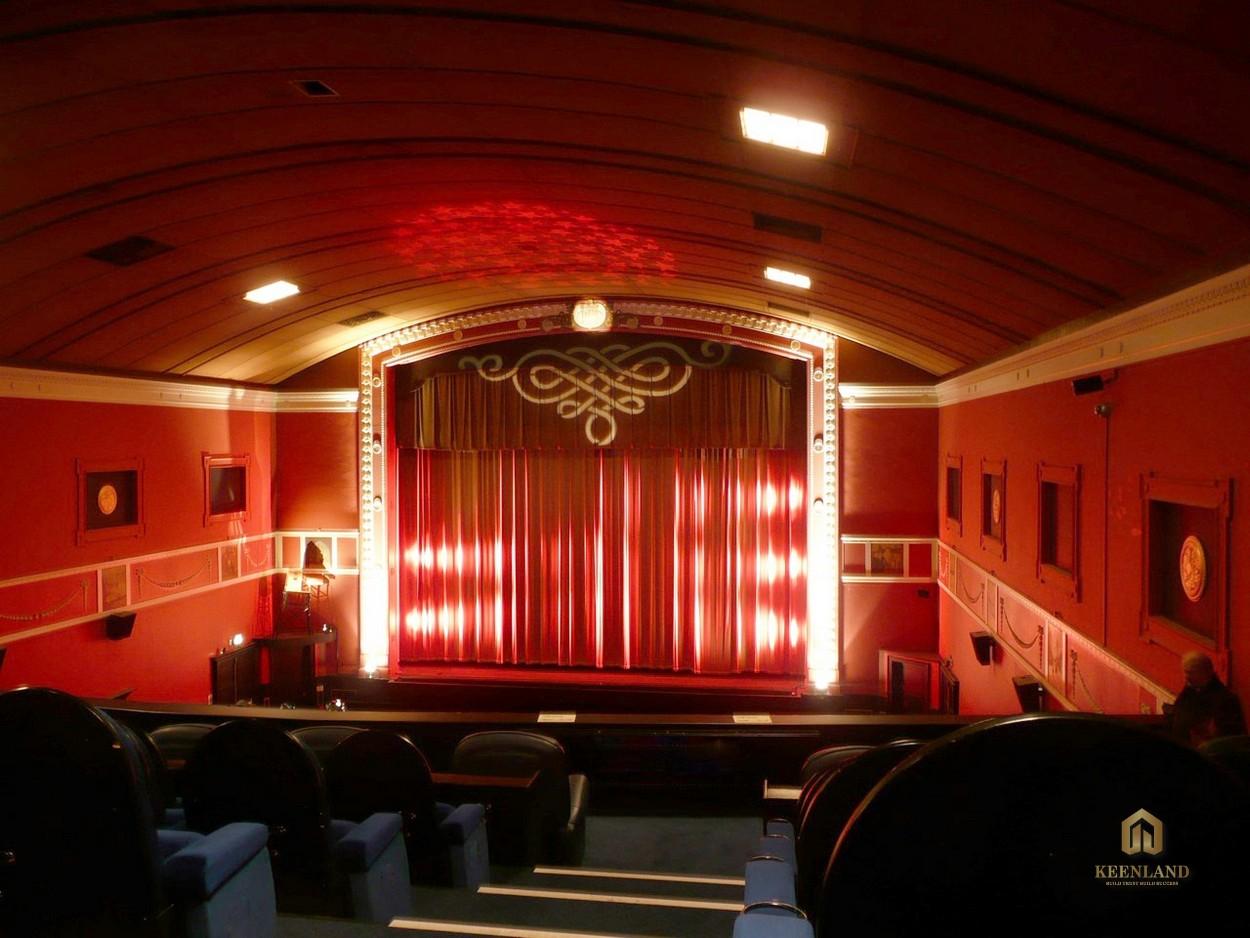 Rạp chiếu phim tại C.T Plaza Minh Châu