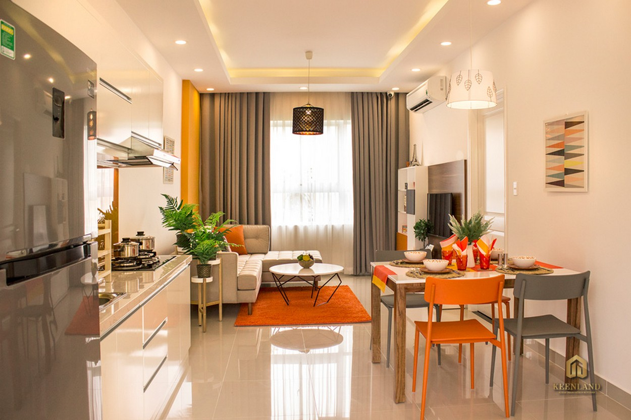 Thiết kế căn hộ mẫu Heaven Riverview