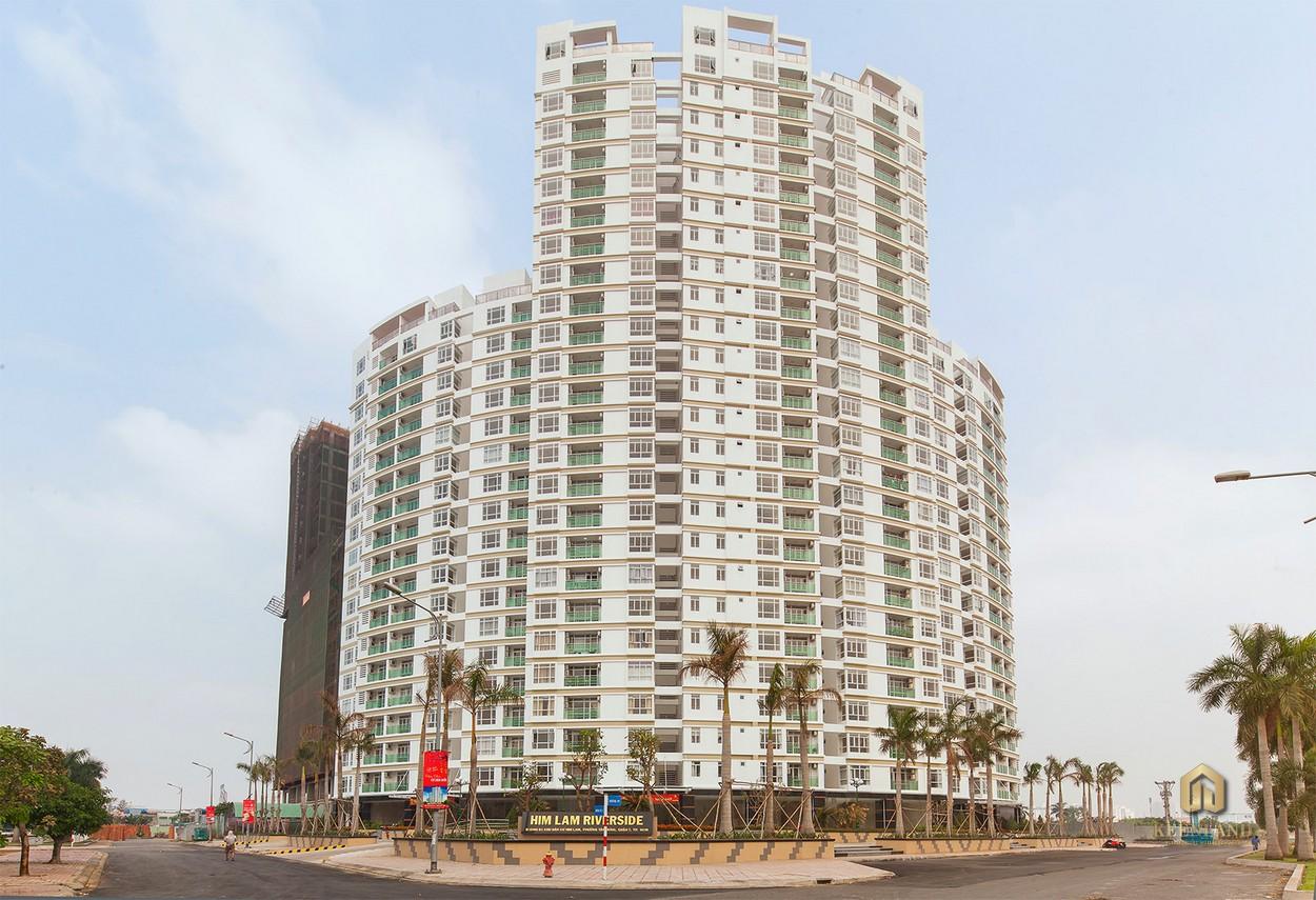 Hình ảnh thực tế tòa nhà Him Lam Riverside