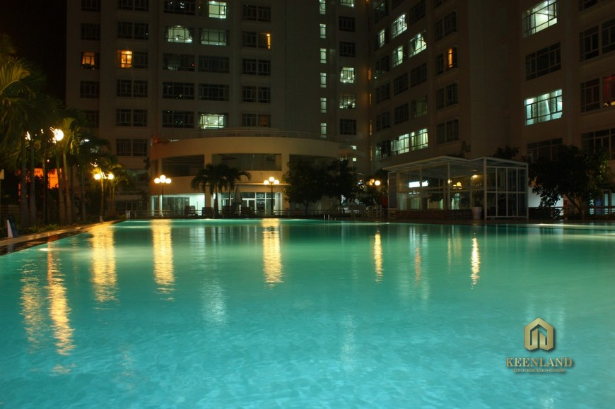 Hình ảnh thực tế hồ bơi Hoàng Anh Gia Lai 2