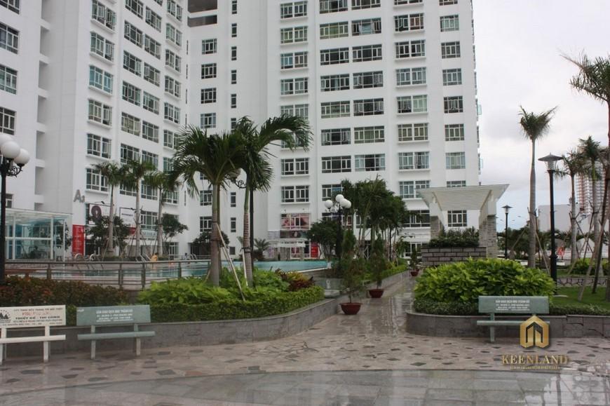 Hình ảnh thực tế khuôn viên căn hộ Hoàng Anh Gia Lai 2