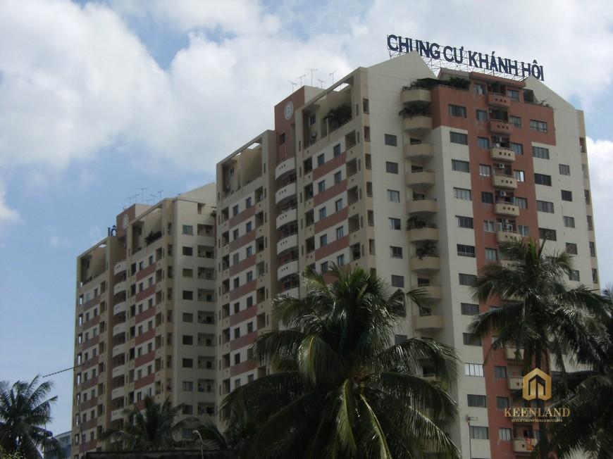 Cận cảnh chung cư Khánh Hội 1