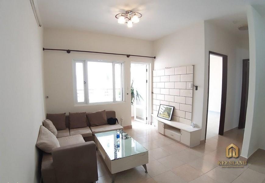 Phòng khách căn hộ chung cư Khánh Hội 2