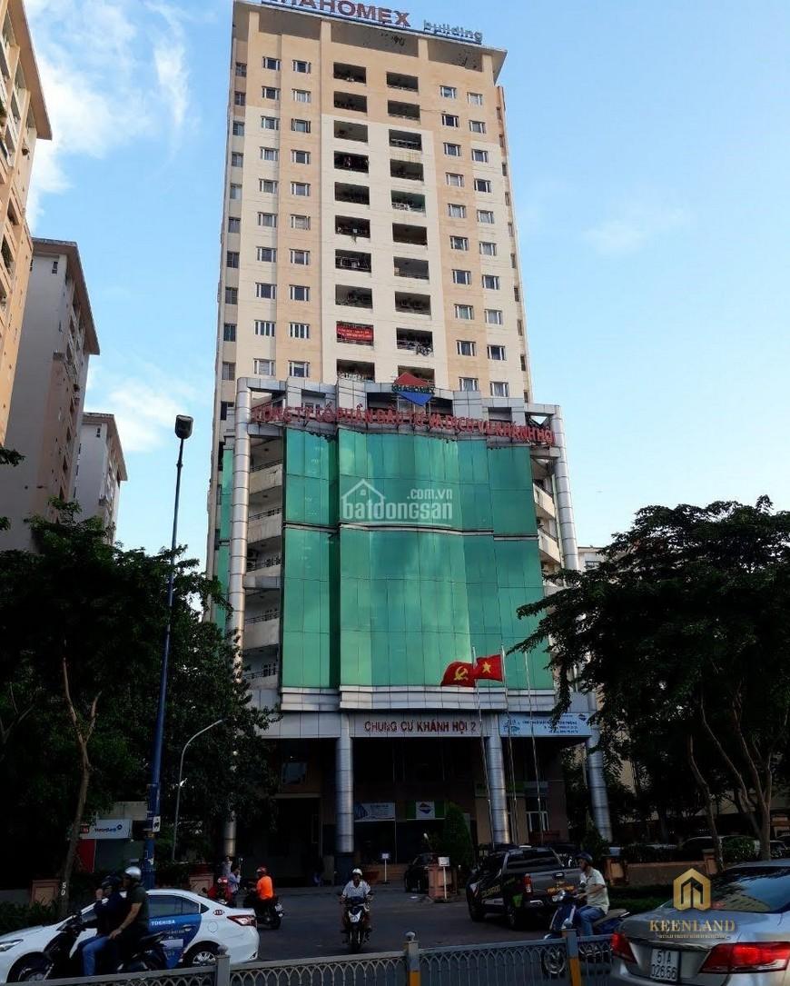 Mặt tiền chung cư Khánh Hội 2