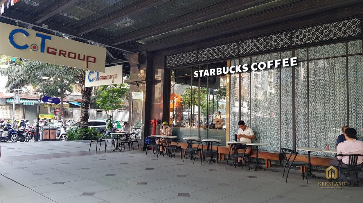 Starbucks Coffee tại Léman Luxury Apartment