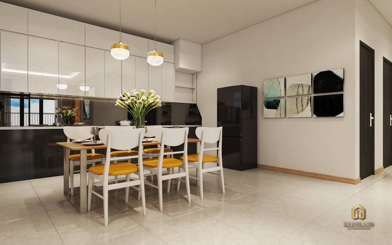 Nhà ăn căn hộ chung cư Park Legend Tân Bình
