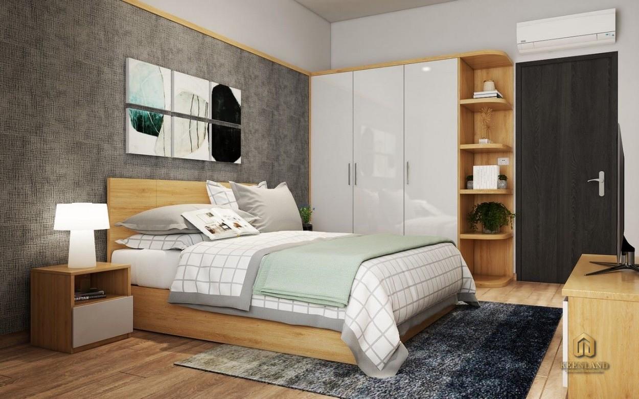 Phòng ngủ căn hộ Park Legend