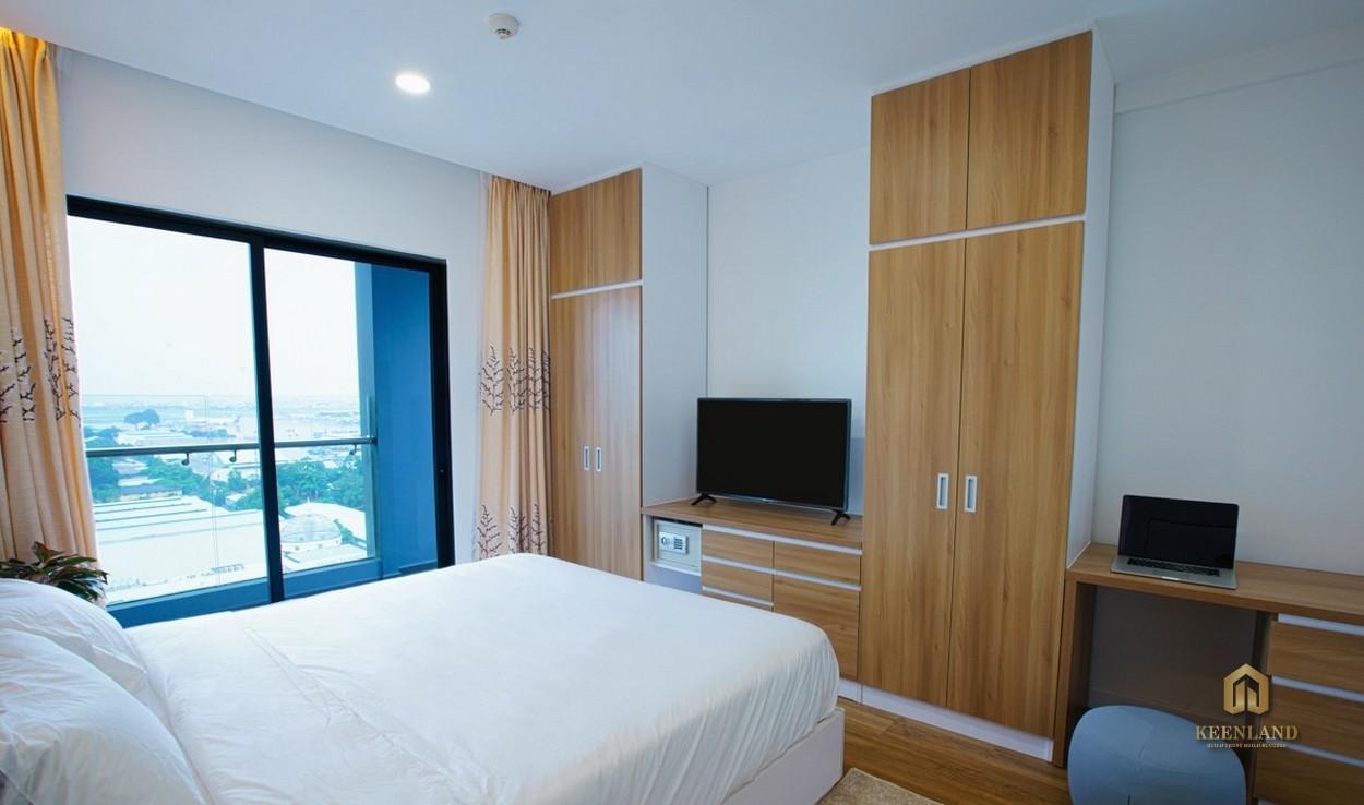 Phòng ngủ căn hộ Republic Plaza