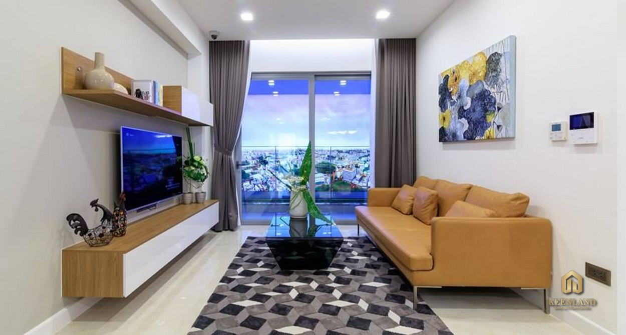 Phòng khách căn hộ Rivera Park Sài Gòn