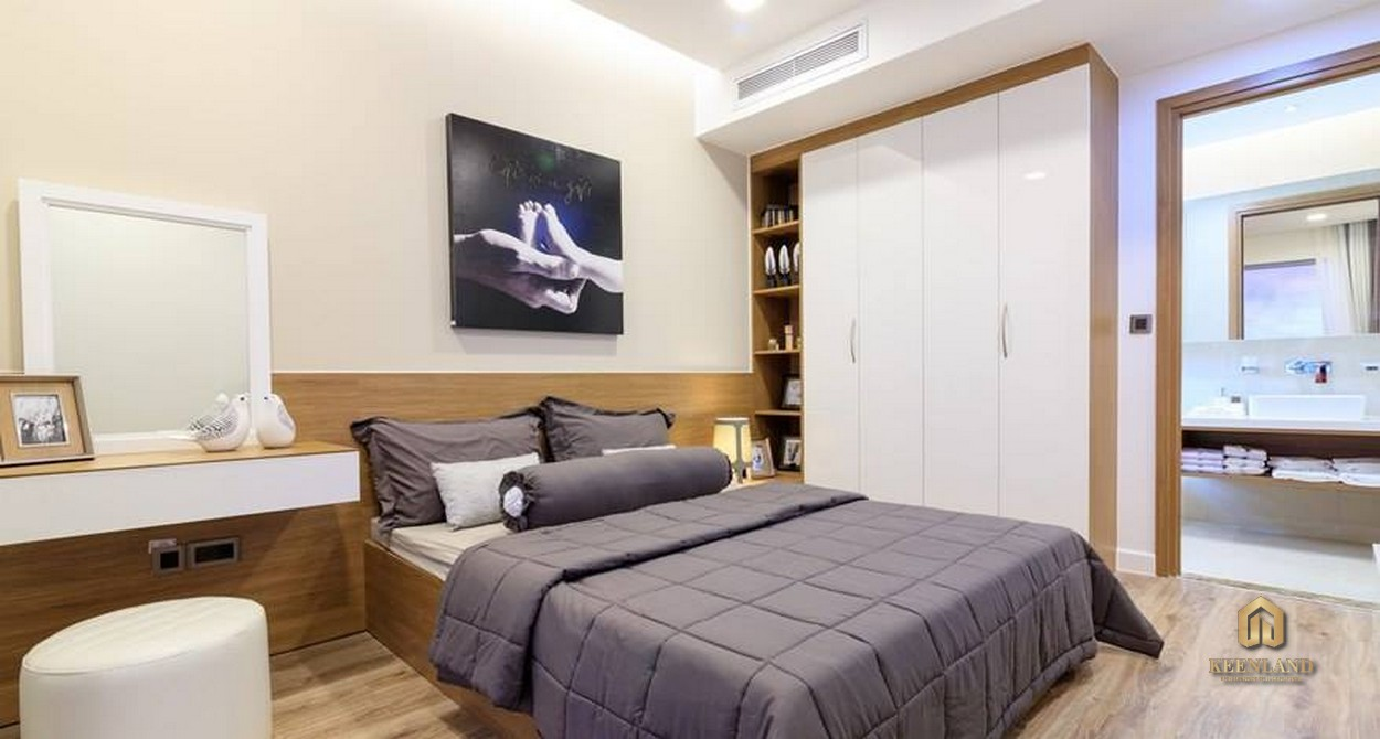 Phòng ngủ căn hộ Rivera Park Sài Gòn