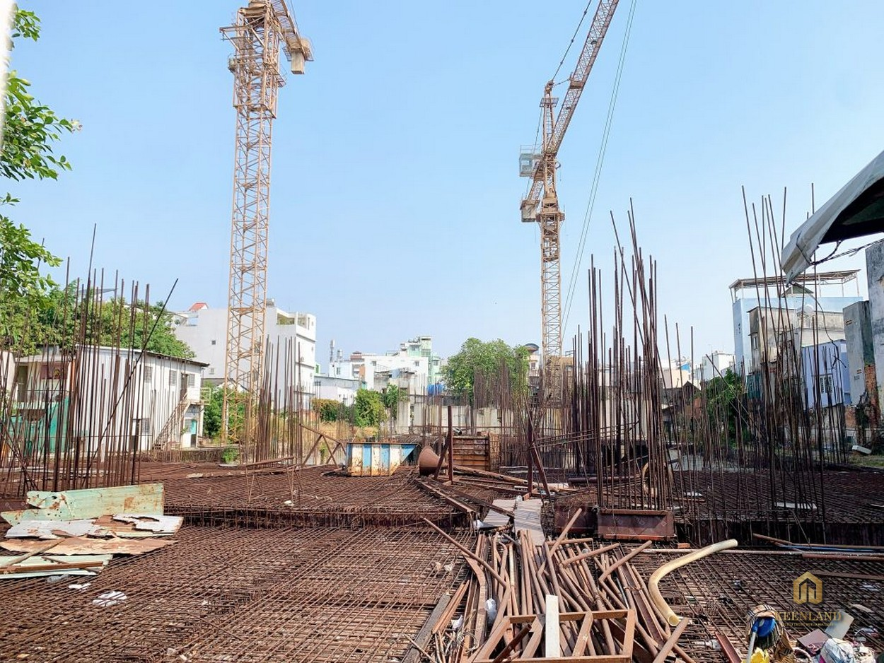 Hình thực tế tiến độ thi công Tam Đức Plaza