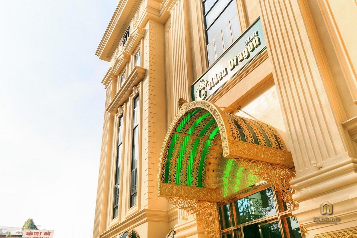 Cận cảnh thiết kế sắc sảo tòa nhà  Tân Phước Plaza