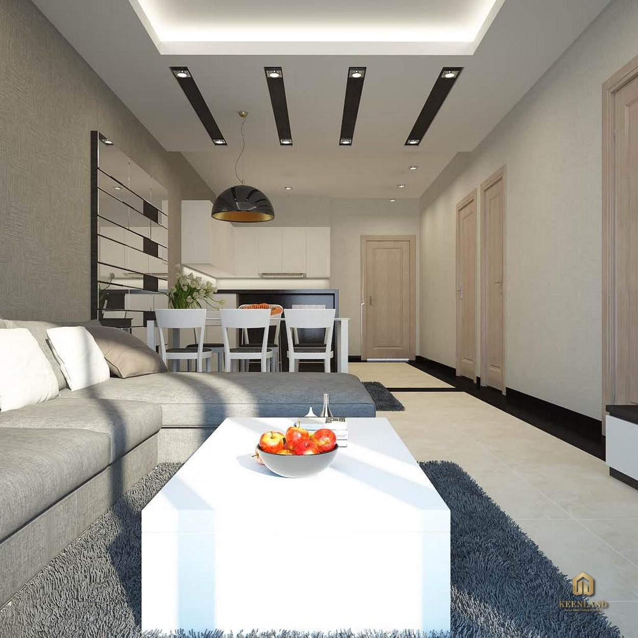 Phòng ngủ căn hộ  Tân Phước Plaza