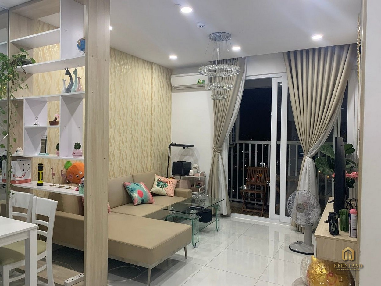 Phòng khách Tara Residence Quận 8