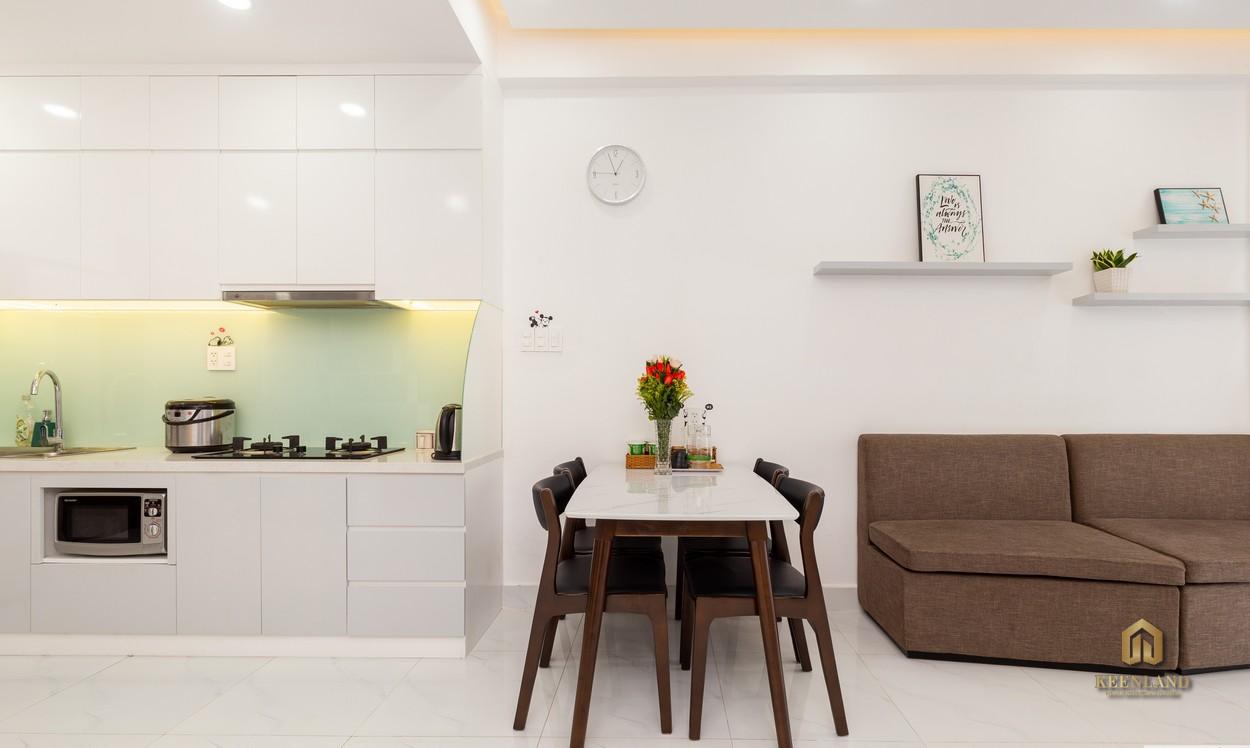 Phòng ăn căn hộ The Botanica