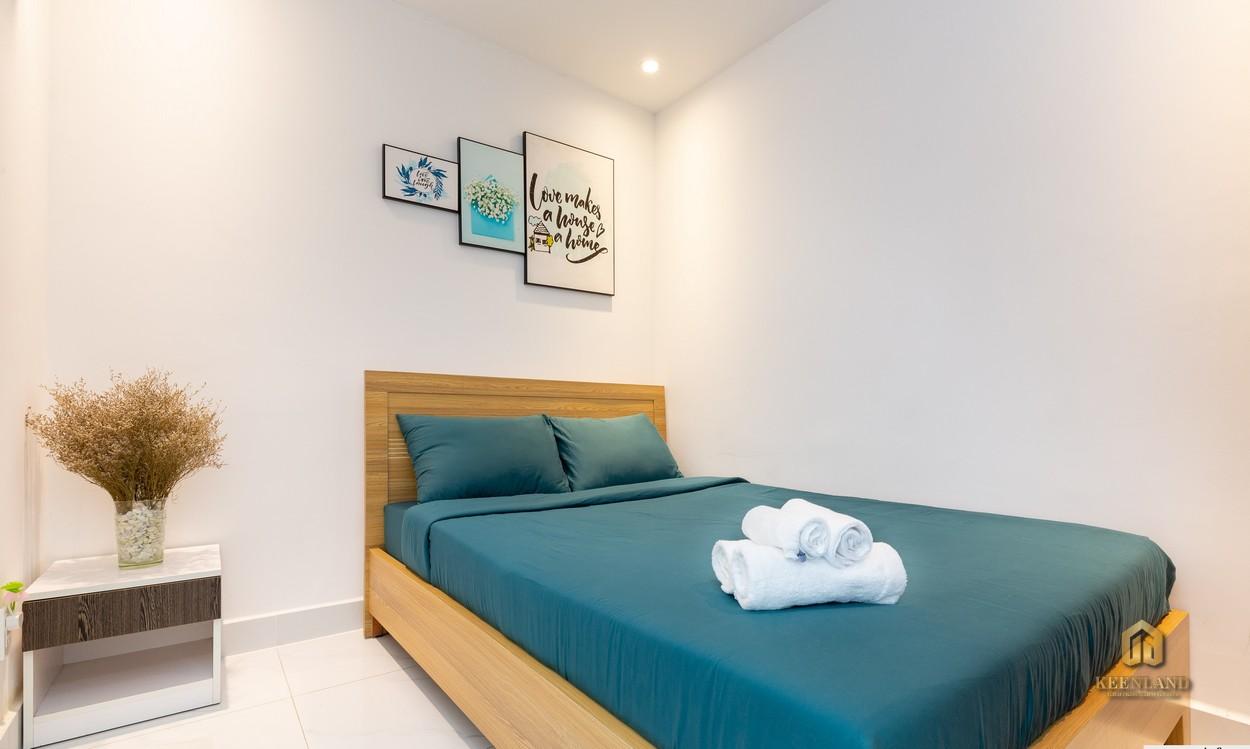 Phòng ngủ căn hộ The Botanica