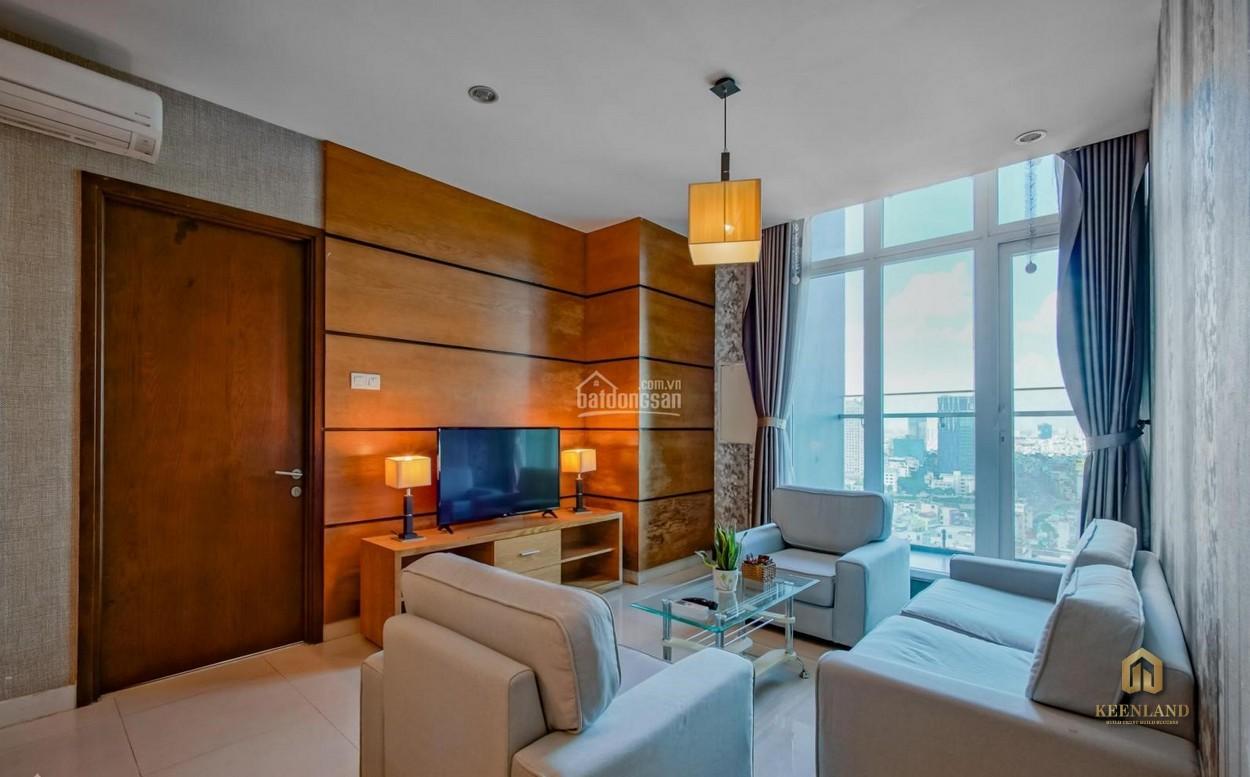 Phòng khách căn hộ The One Saigon