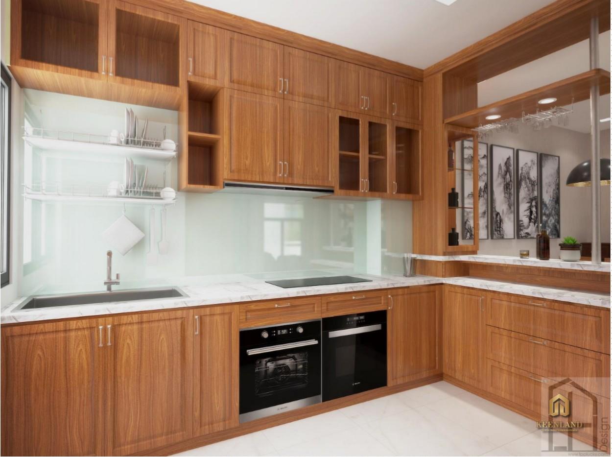 Nhà bếp căn hộ Đào Duy Từ Quận 10