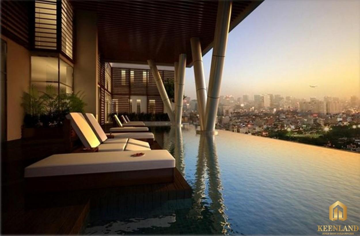Hồ bơi dự án The Prince Residence