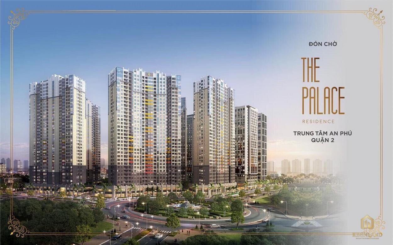 Dự án khu dân cư cao cấp The Palace Residence tại quận 2