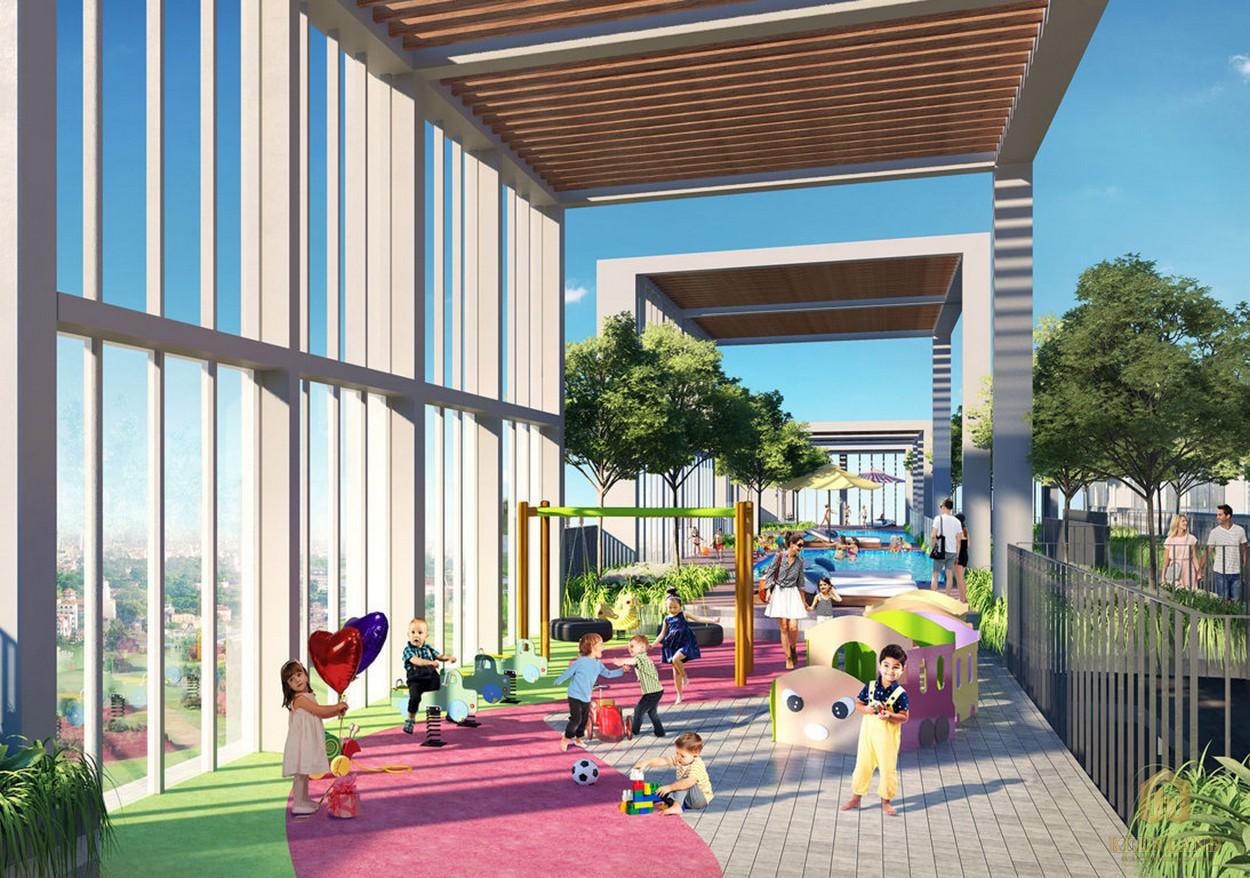 Khu vui chơi trẻ em dự án căn hộ Citi Grand Quận 2