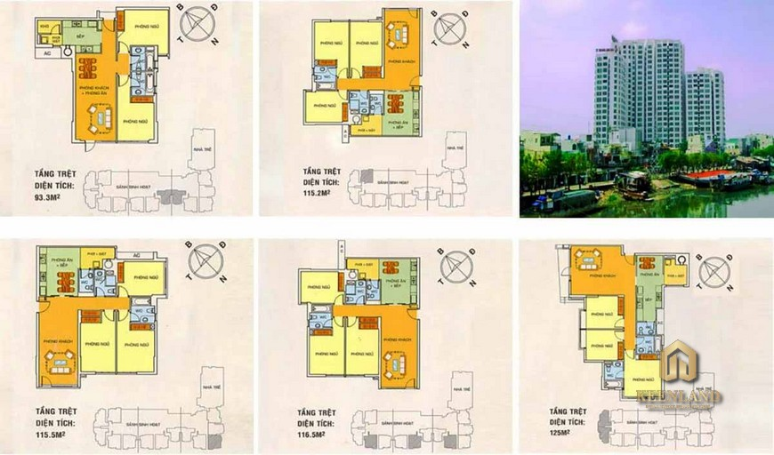Thiết kế chi tiết căn hộ Hoàng Anh Gia Lai 2 Quận 7