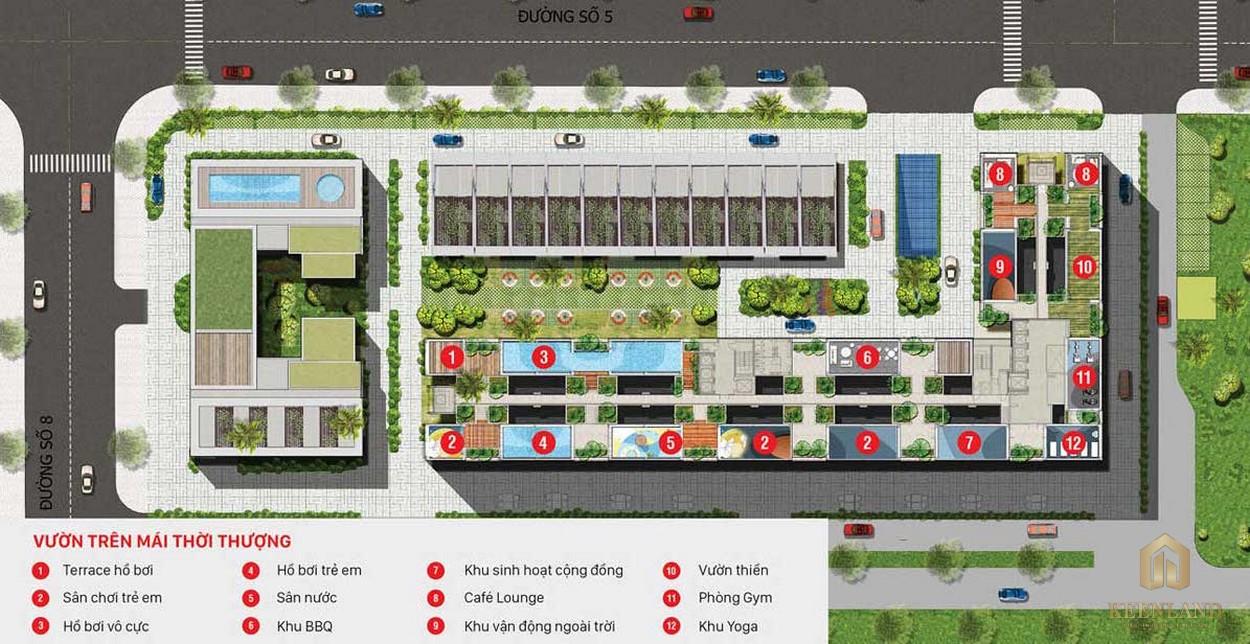 Tiện ích nội khu dự án căn hộ Citi Grand Quận 2