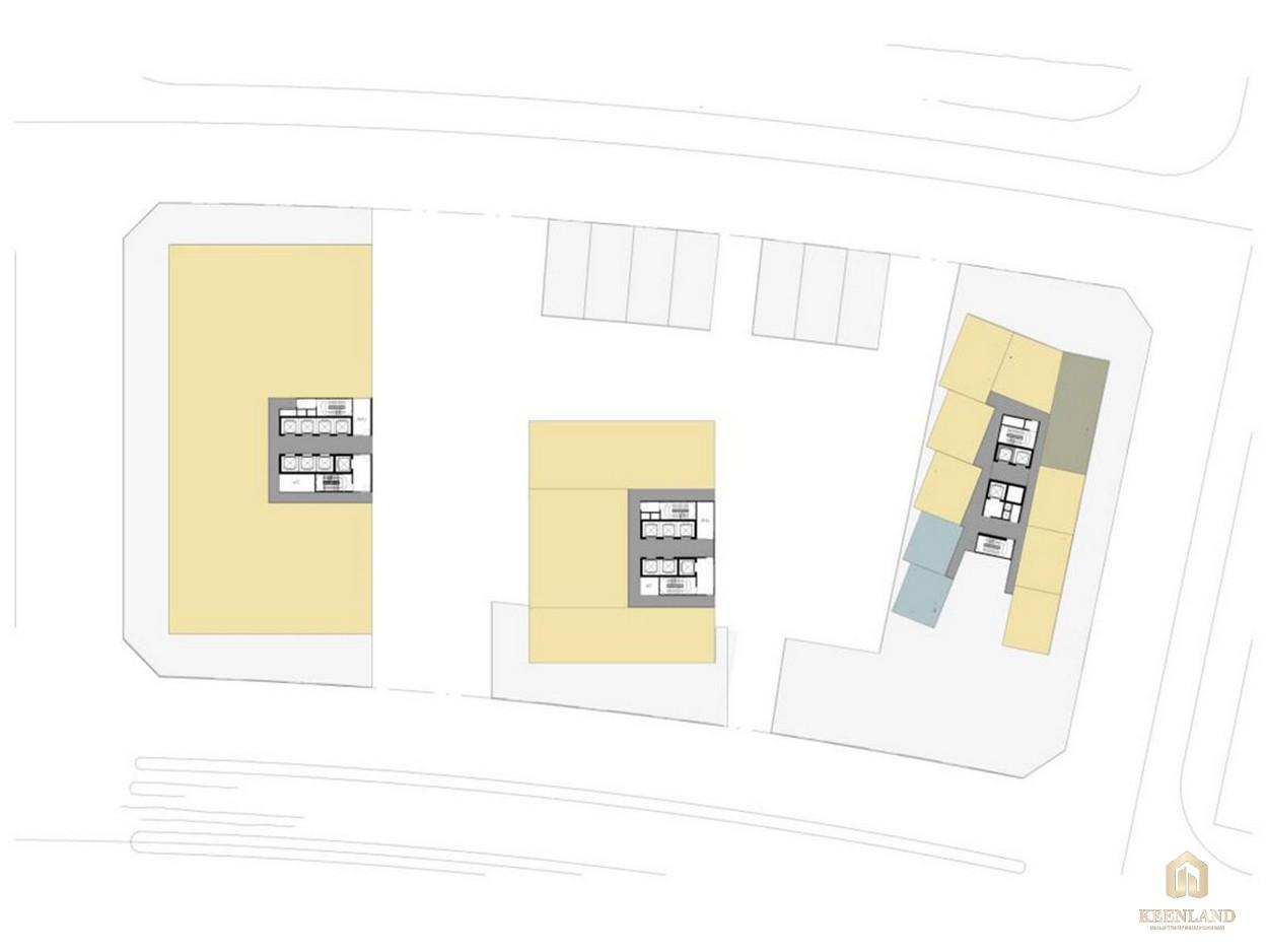 Mặt bằng căn hộ The Metropole Thủ Thiêm giai đoạn 2
