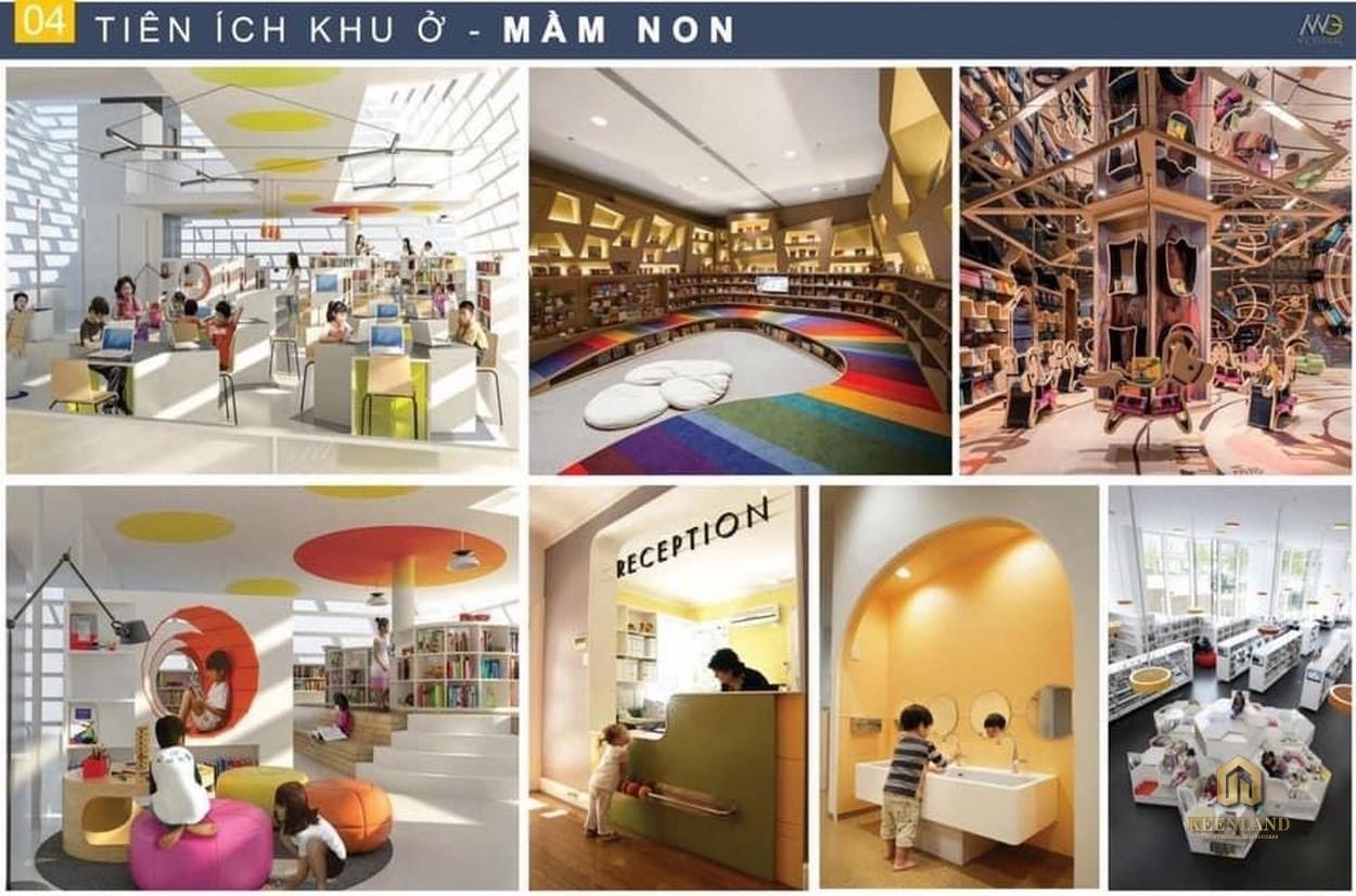 Tiện ích nội khu dự án Moonlight Centre Point Bình Trị Đông Bình Tân