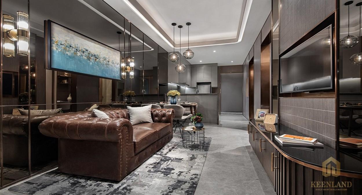 Nhà mẫu căn hộ 1PN dự án chung cư The Marq Quận 1 Đường Nguyễn Đình Chiểu