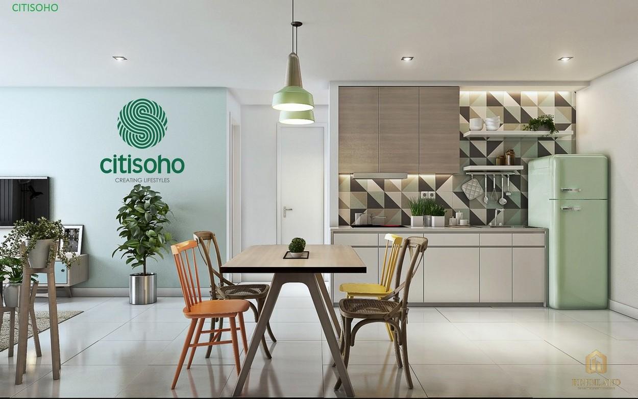 Nhà mẫu dự án căn hộ chung cư Citisoho Quận 2