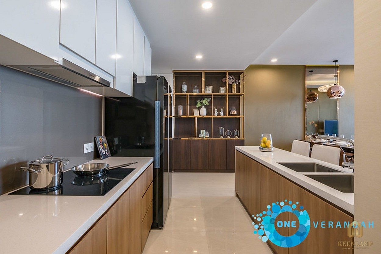 Nhà mẫu căn hộ chung cư One Verandah Quận 2