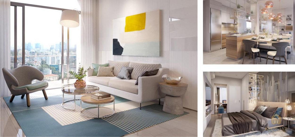 Nhà mẫu căn hộ dự án căn hộ Q2 Thảo Điền