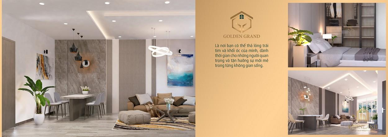 Nhà mẫu dự án căn hộ Golden Grand quận 2