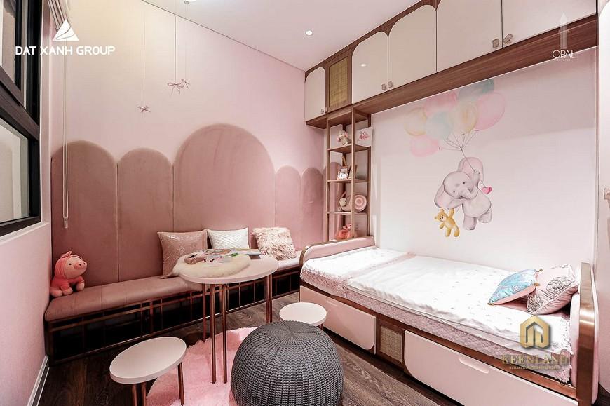 Nhà mẫu dự án Opal Cityview - Phòng ngủ trẻ em