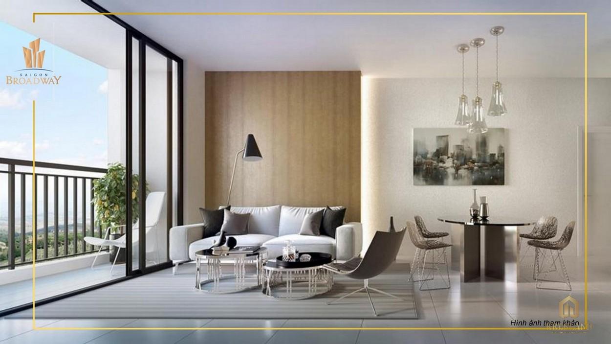 Nhà mẫu căn hộ cao cấp Saigon Broadway quận 2