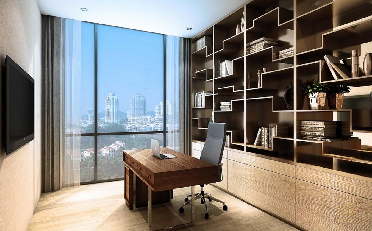 Phòng làm việc nhà mẫu dự án căn hộ Empire City