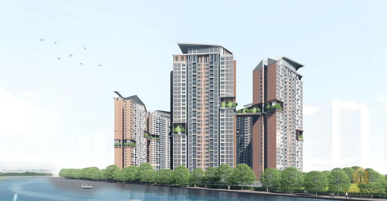 Phân khu Velona dự án Saigon Sports City quận 2