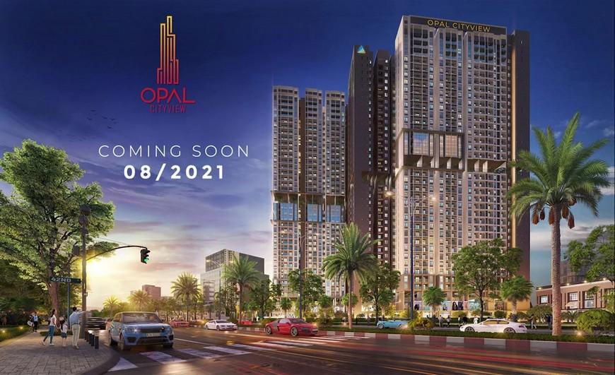 Dự án căn hộ Opal Cityview Thủ Dầu Một Bình Dương