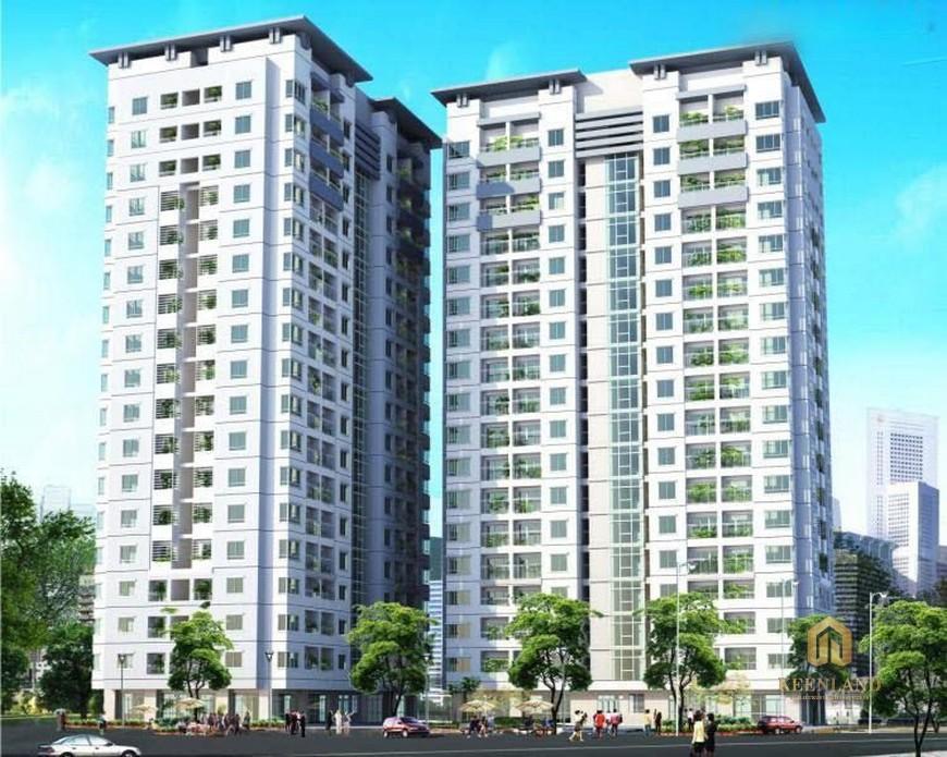 Phối cảnh dự án 155 Nguyễn Chí Thanh Quận 5