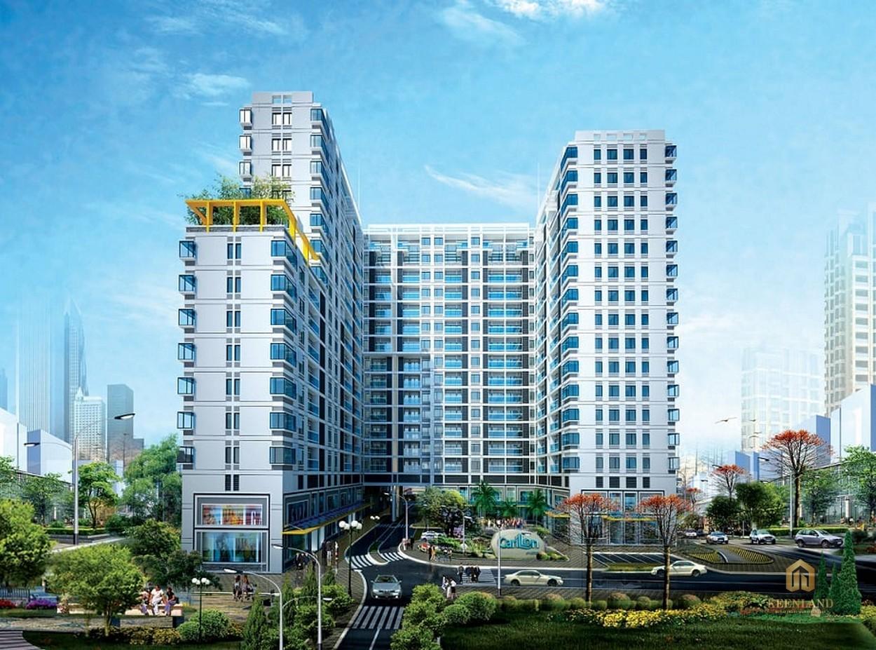 Phối cảnh dự án Carrilon 1 Quận Tân Bình